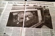 Jakarta Globe: Front page article