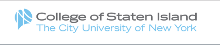 College of Staten Island- CUNY